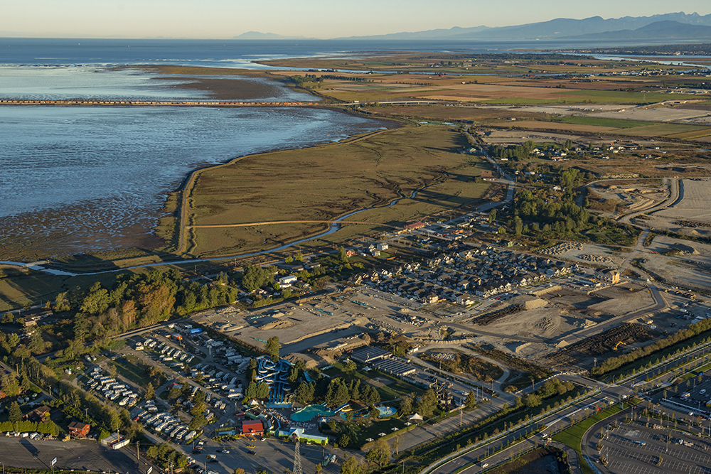 Tsawwassen First Nations Aerial View