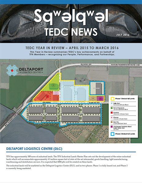 TEDC YEAR IN REVIEW – APRIL 2015 TO MARCH 2016